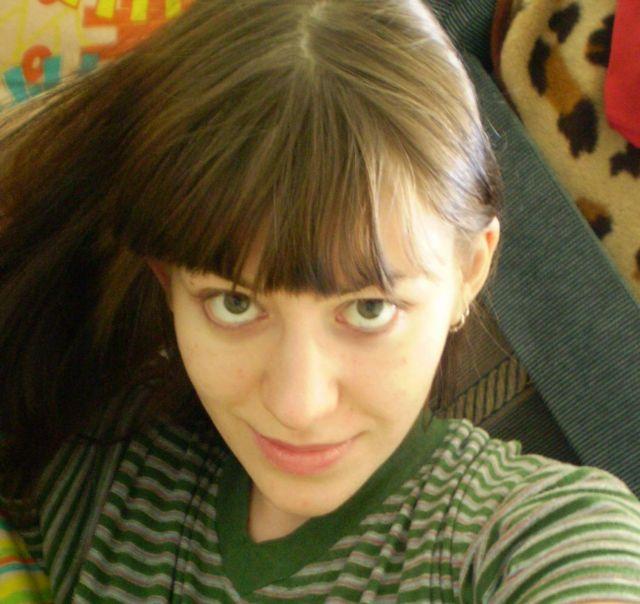Решила таки отращивать свой натуральный цвет волос))